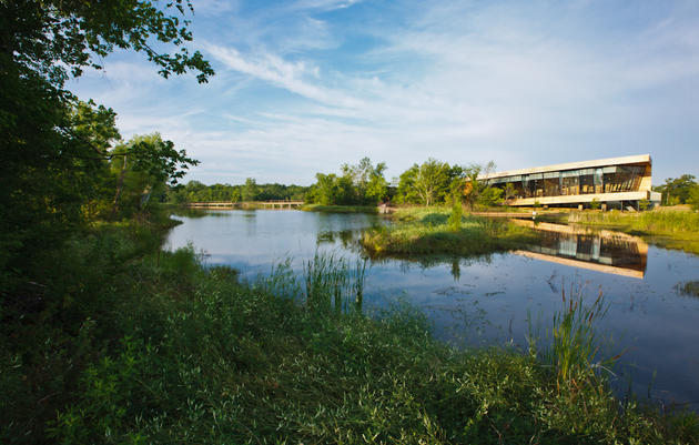 Visiting Trinity River Audubon Center